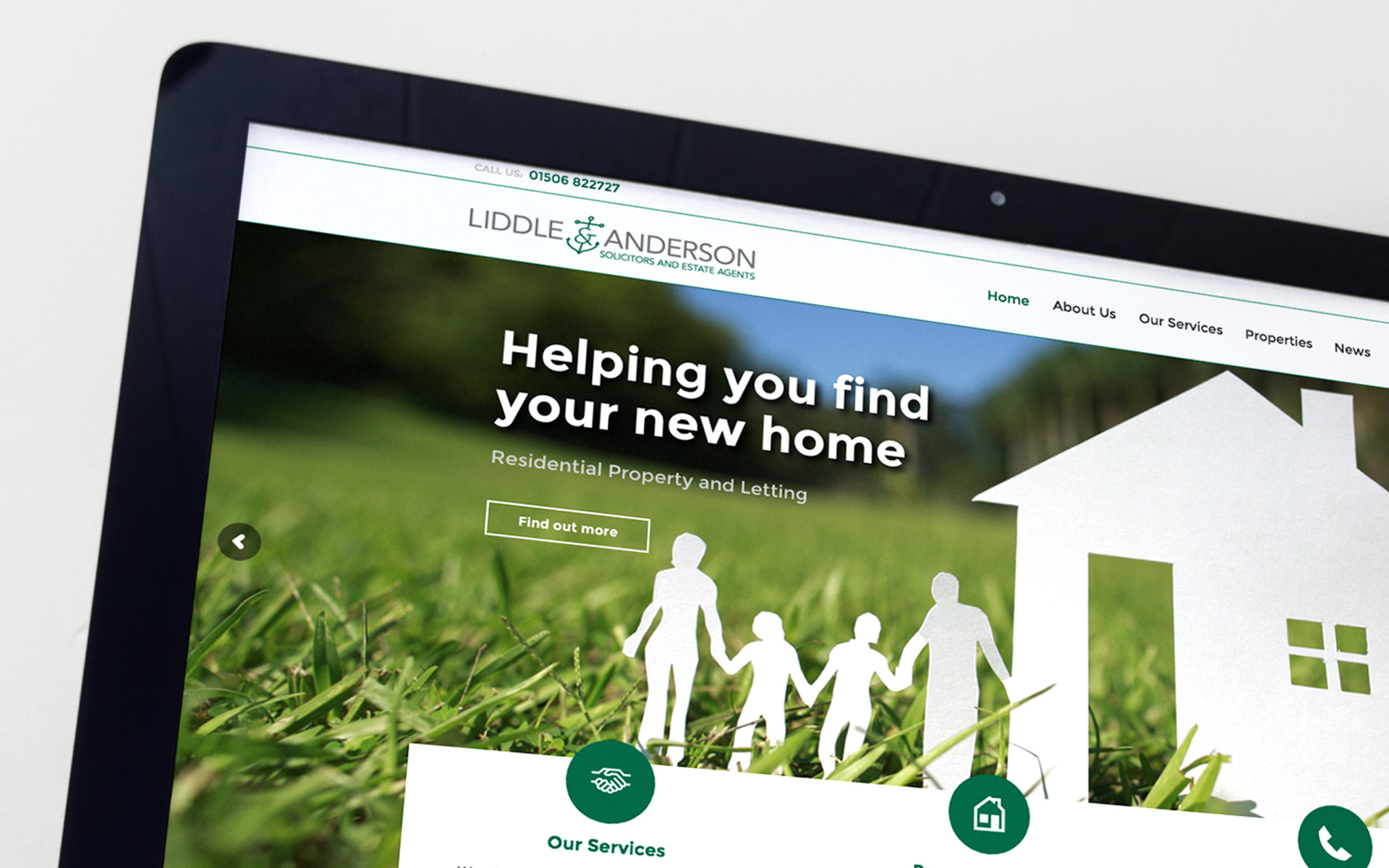 A New Responsive Website for L&A